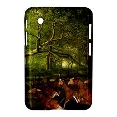 Red Deer Deer Roe Deer Antler Samsung Galaxy Tab 2 (7 ) P3100 Hardshell Case