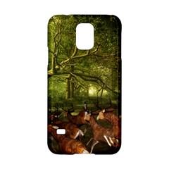 Red Deer Deer Roe Deer Antler Samsung Galaxy S5 Hardshell Case