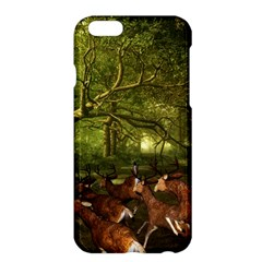 Red Deer Deer Roe Deer Antler Apple Iphone 6 Plus/6s Plus Hardshell Case