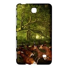 Red Deer Deer Roe Deer Antler Samsung Galaxy Tab 4 (8 ) Hardshell Case