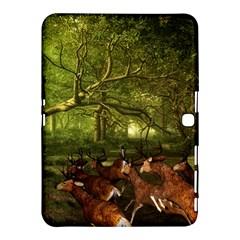 Red Deer Deer Roe Deer Antler Samsung Galaxy Tab 4 (10 1 ) Hardshell Case