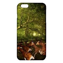 Red Deer Deer Roe Deer Antler iPhone 6 Plus/6S Plus TPU Case