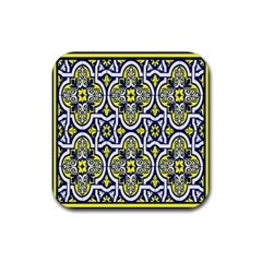 Tiles Panel Decorative Decoration Rubber Coaster (square)