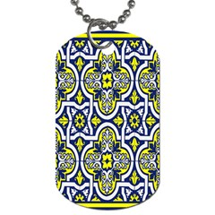 Tiles Panel Decorative Decoration Dog Tag (Two Sides)