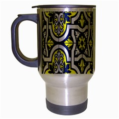 Tiles Panel Decorative Decoration Travel Mug (silver Gray)