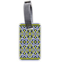 Tiles Panel Decorative Decoration Luggage Tags (One Side)