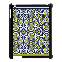Tiles Panel Decorative Decoration Apple Ipad 3/4 Case (black)