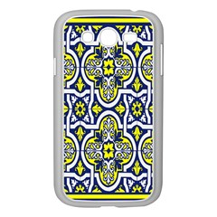 Tiles Panel Decorative Decoration Samsung Galaxy Grand Duos I9082 Case (white)