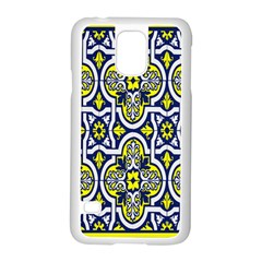Tiles Panel Decorative Decoration Samsung Galaxy S5 Case (white)