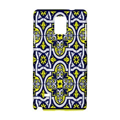 Tiles Panel Decorative Decoration Samsung Galaxy Note 4 Hardshell Case