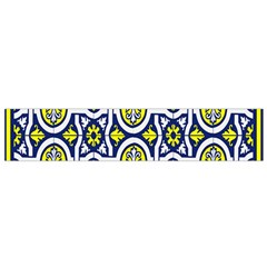 Tiles Panel Decorative Decoration Flano Scarf (small)
