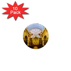 Church The Worship Quito Ecuador 1  Mini Magnet (10 pack)