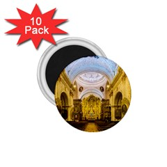 Church The Worship Quito Ecuador 1 75  Magnets (10 Pack)