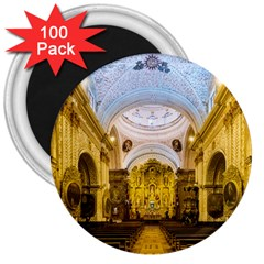 Church The Worship Quito Ecuador 3  Magnets (100 pack)