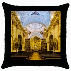 Church The Worship Quito Ecuador Throw Pillow Case (black)
