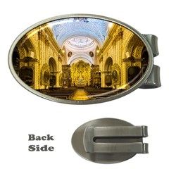 Church The Worship Quito Ecuador Money Clips (Oval)