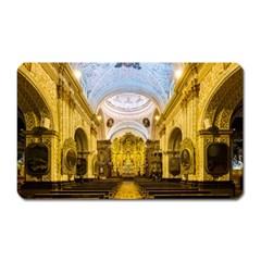 Church The Worship Quito Ecuador Magnet (rectangular)