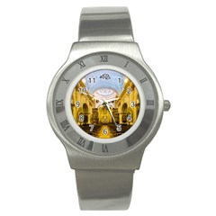 Church The Worship Quito Ecuador Stainless Steel Watch