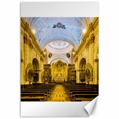 Church The Worship Quito Ecuador Canvas 12  x 18