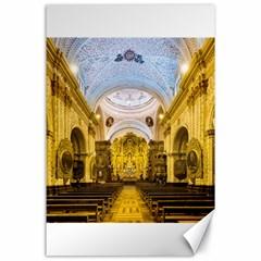 Church The Worship Quito Ecuador Canvas 24  x 36