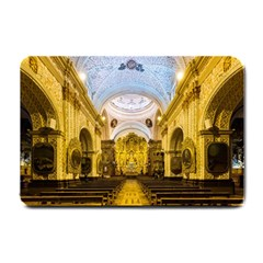 Church The Worship Quito Ecuador Small Doormat