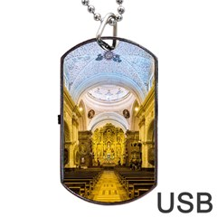 Church The Worship Quito Ecuador Dog Tag USB Flash (One Side)