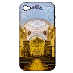 Church The Worship Quito Ecuador Apple iPhone 4/4S Hardshell Case (PC+Silicone)