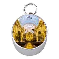 Church The Worship Quito Ecuador Mini Silver Compasses