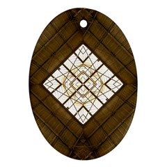 Steel Glass Roof Architecture Ornament (oval)