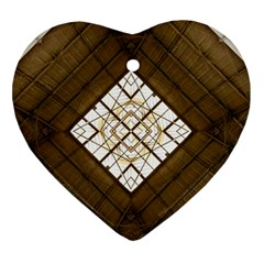 Steel Glass Roof Architecture Ornament (heart)