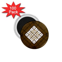 Steel Glass Roof Architecture 1 75  Magnets (100 Pack)