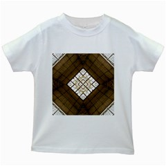 Steel Glass Roof Architecture Kids White T-Shirts