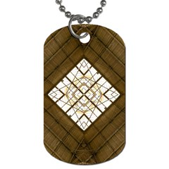 Steel Glass Roof Architecture Dog Tag (Two Sides)