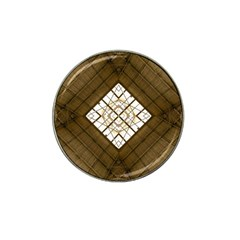Steel Glass Roof Architecture Hat Clip Ball Marker (4 Pack)