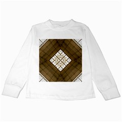 Steel Glass Roof Architecture Kids Long Sleeve T Shirts