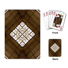 Steel Glass Roof Architecture Playing Card