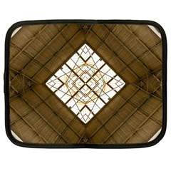 Steel Glass Roof Architecture Netbook Case (Large)