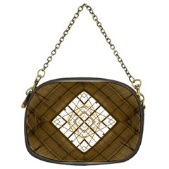 Steel Glass Roof Architecture Chain Purses (one Side)