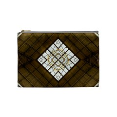 Steel Glass Roof Architecture Cosmetic Bag (medium)