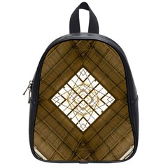 Steel Glass Roof Architecture School Bags (Small)