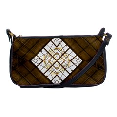 Steel Glass Roof Architecture Shoulder Clutch Bags