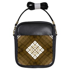 Steel Glass Roof Architecture Girls Sling Bags