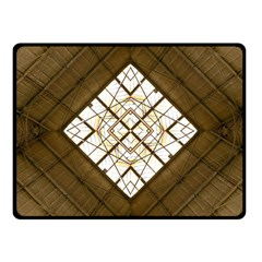 Steel Glass Roof Architecture Fleece Blanket (Small)