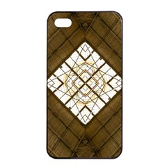 Steel Glass Roof Architecture Apple iPhone 4/4s Seamless Case (Black)