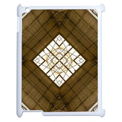 Steel Glass Roof Architecture Apple iPad 2 Case (White)