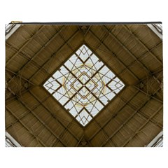 Steel Glass Roof Architecture Cosmetic Bag (xxxl)