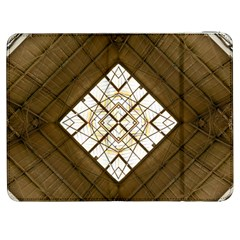 Steel Glass Roof Architecture Samsung Galaxy Tab 7  P1000 Flip Case