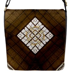 Steel Glass Roof Architecture Flap Messenger Bag (s)