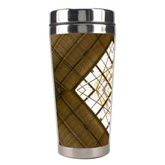 Steel Glass Roof Architecture Stainless Steel Travel Tumblers