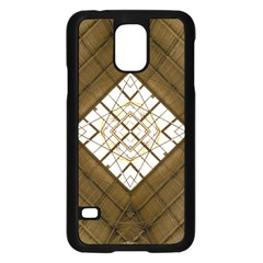 Steel Glass Roof Architecture Samsung Galaxy S5 Case (Black)
